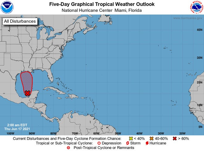 Gulf Coast bracing for up to 20 inches of weekend rain; tropical storm warning issued for four states